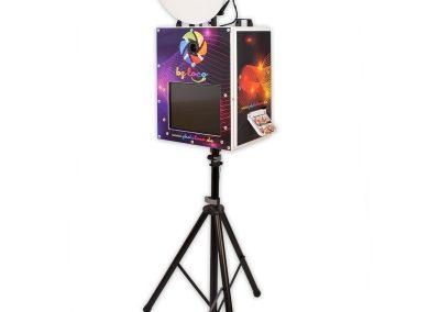 Photoloco-Box mit 3-Bein-Stativ