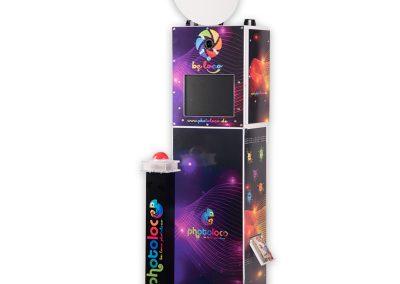 Photoloco-Box mit Tower und WiFi Buzzersäule
