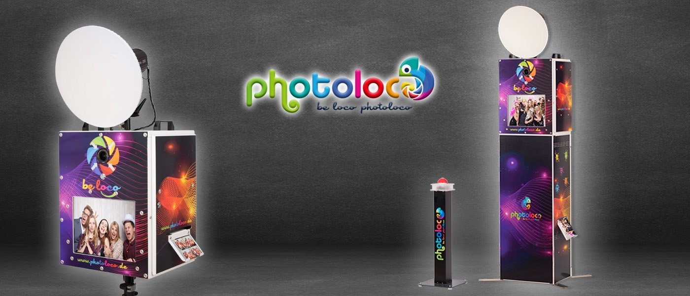 Fotoboxen mieten - Photoloco Box - Photoloco Box Tower