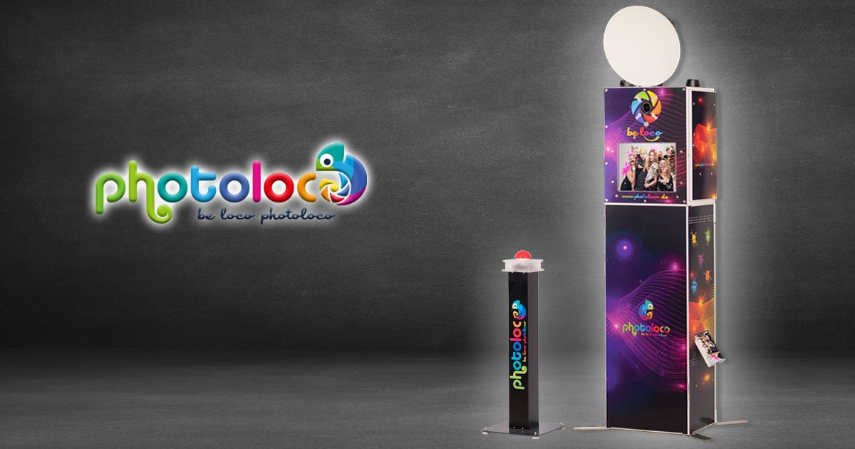Fotobox günstig online mieten - die photoloco Box