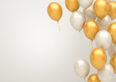 Golden Baloons