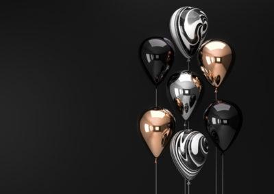 Metalic Baloons