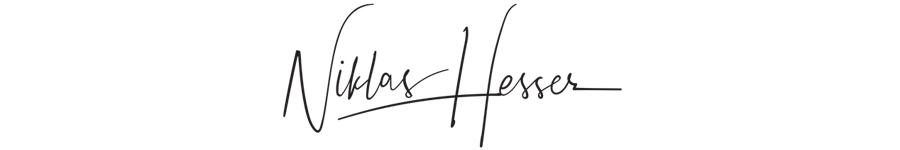 Niklas Hesser - Signatur